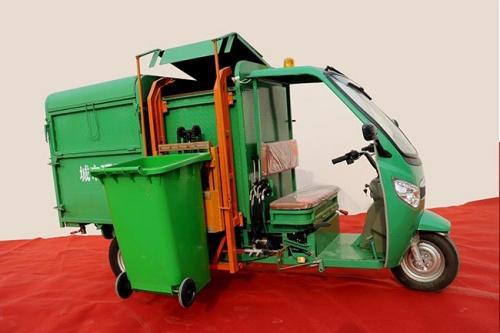 电动环卫车厂家介绍电动垃圾清运车爆胎的预防方法