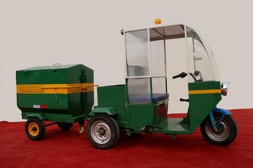 电动垃圾清运车成为改善城市环境的好帮手