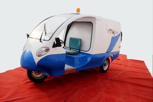 电动环卫车制动拖滞引起的制动鼓发热