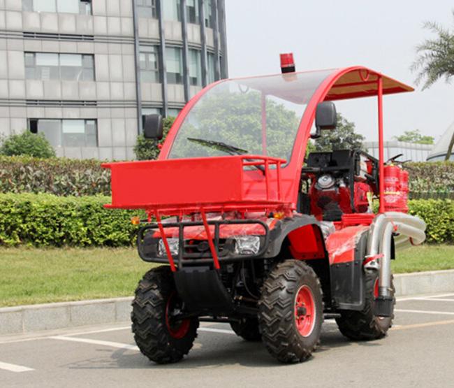 越野摩托消防车