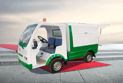 高性能电动环卫车